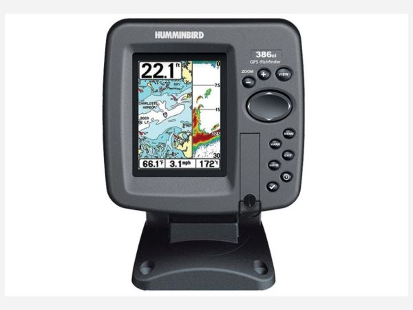 Tackle box fish finder fundamentals pontoon deck boat for How to read a humminbird fish finder
