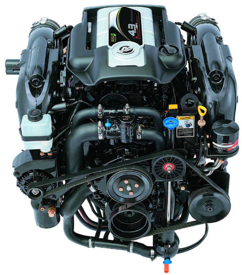Mercruiser Dependability Pontoon Deck Boat Magazine Navistar Engine Diagram