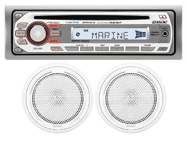 Sony CDX-M10 Stereo/Speaker package