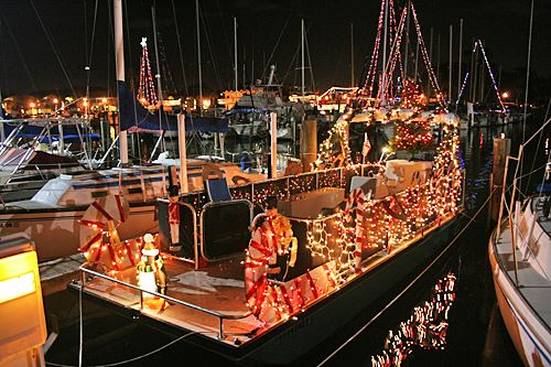 Fort Lauderdale Christmas Boat Parade.Christmas Boat Parades In Florida Pontoon Deck Boat Magazine