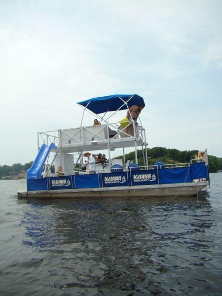 Party Barge Style Pontoon Deck Boat Magazine