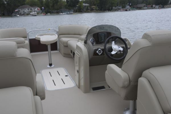 As You Step Onto This Boat, There Is Just Something Very Inviting About The  Interior. From The Non Skid Marine Grade Vinyl Flooring To The Tan  Soft Touch ...