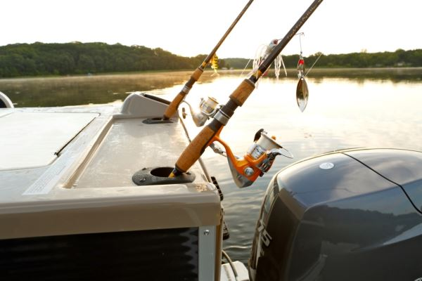 Hold That Rod Pontoon Deck Boat Magazine
