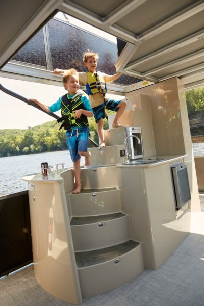 You Can T Miss Premier S New Two Story Escalante Pontoon