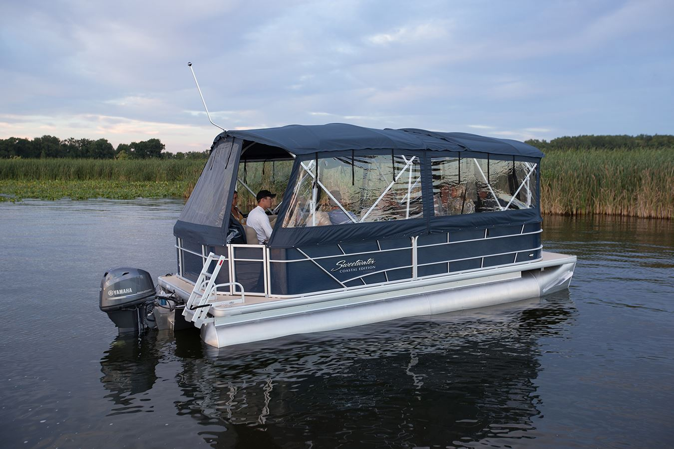 Pontoon Enclosures So who's ready for a longer boating ...
