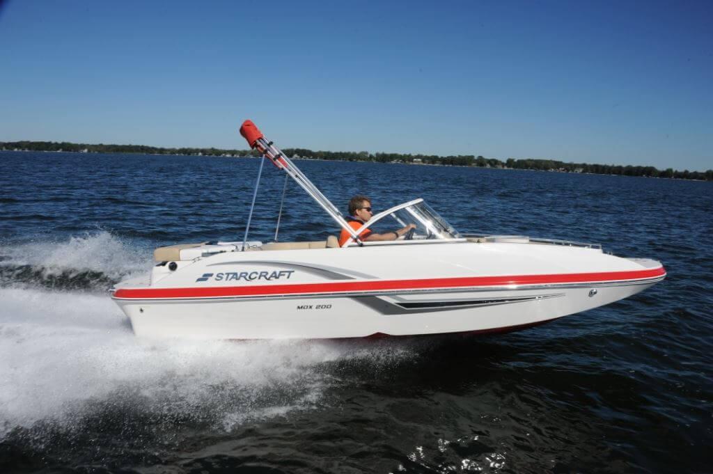 Starcraft MDX 200 I/O   Pontoon & Deck Boat Magazine