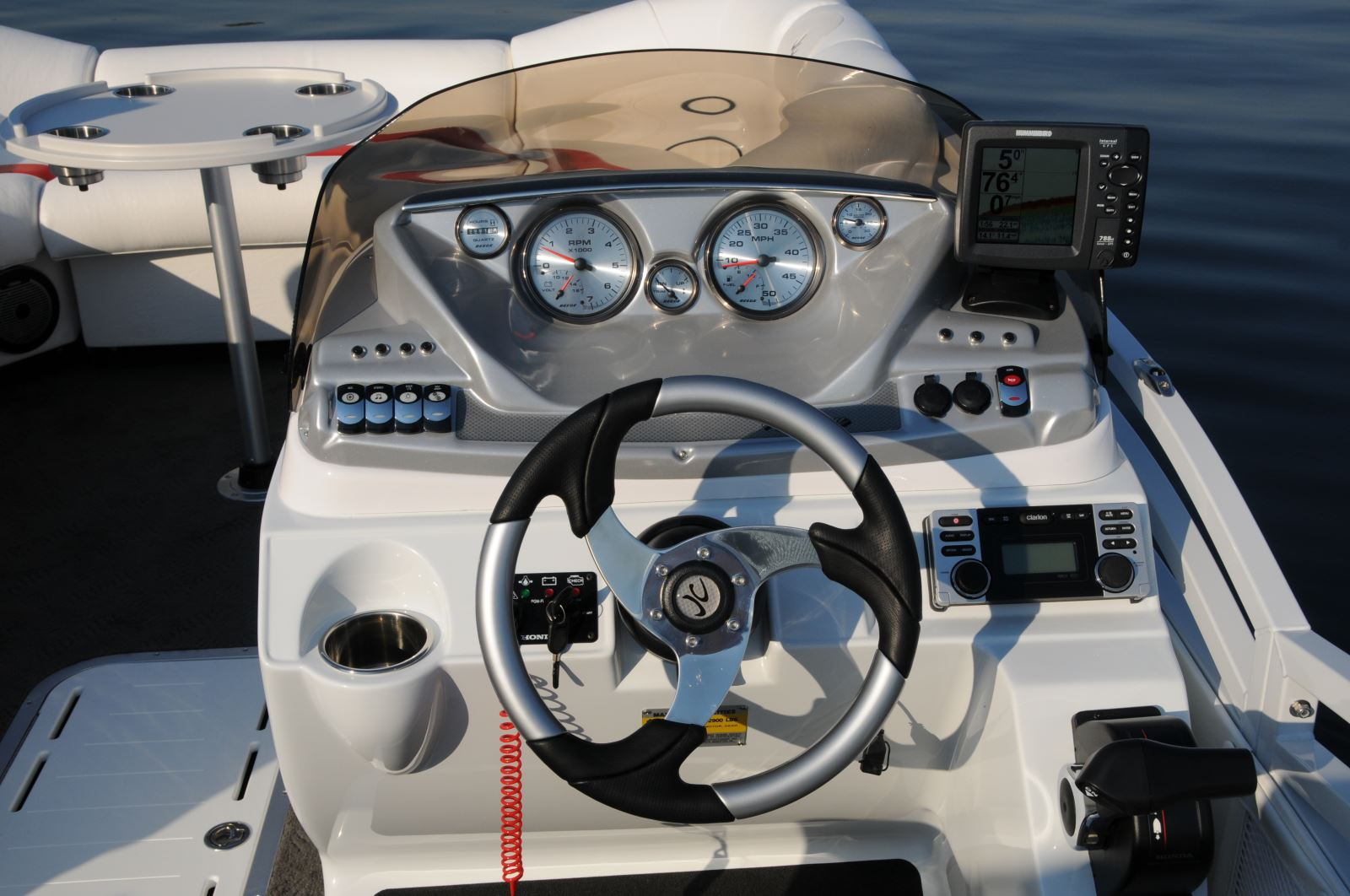 Boating Electronics Best installation practices   Pontoon