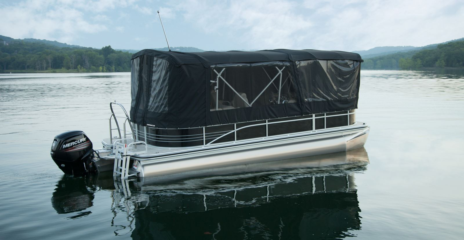 Pontoon Enclosures So who's ready for a longer boating