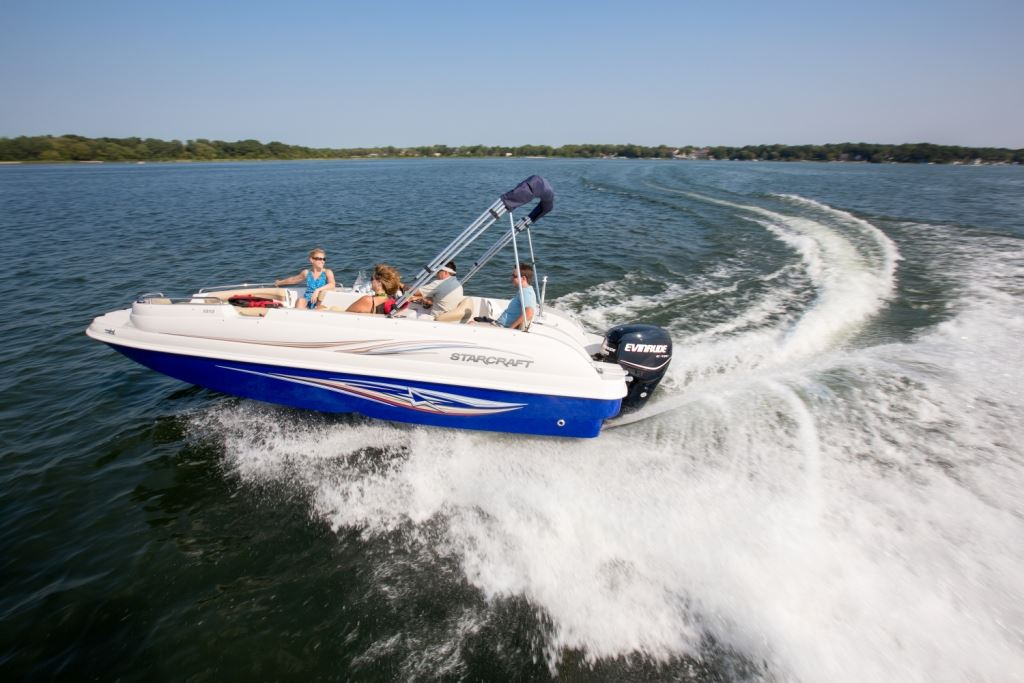 The Mighty 135 H O  | Pontoon & Deck Boat Magazine