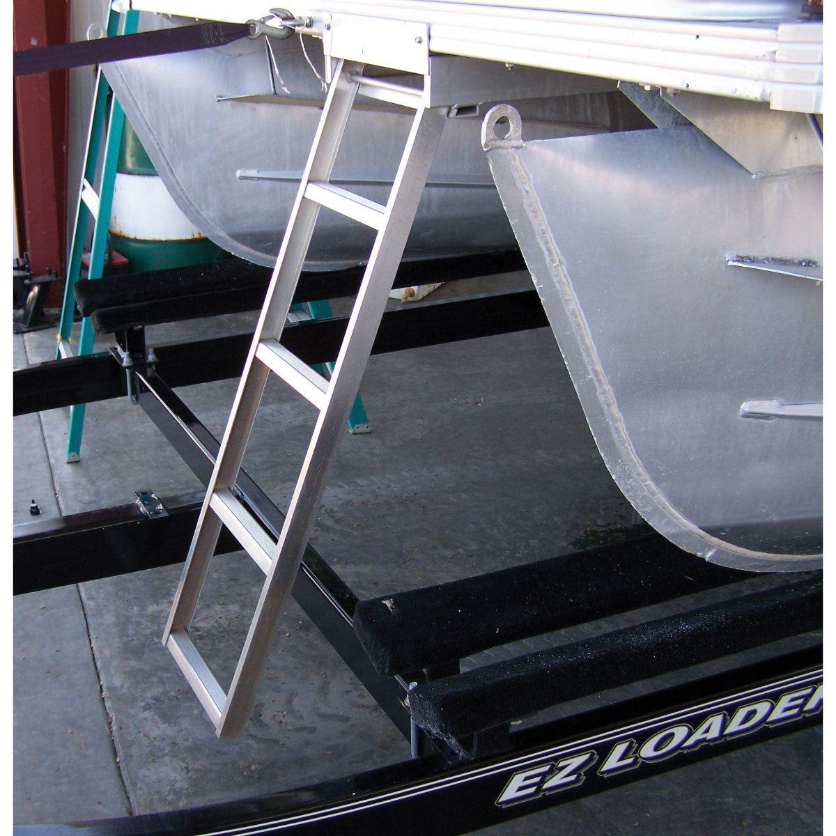 Under Deck Pontoon Boat Ladder For Flat Front Decks