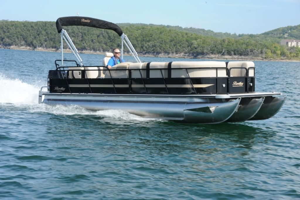 sale tritoon from baron com usa boats bentley for