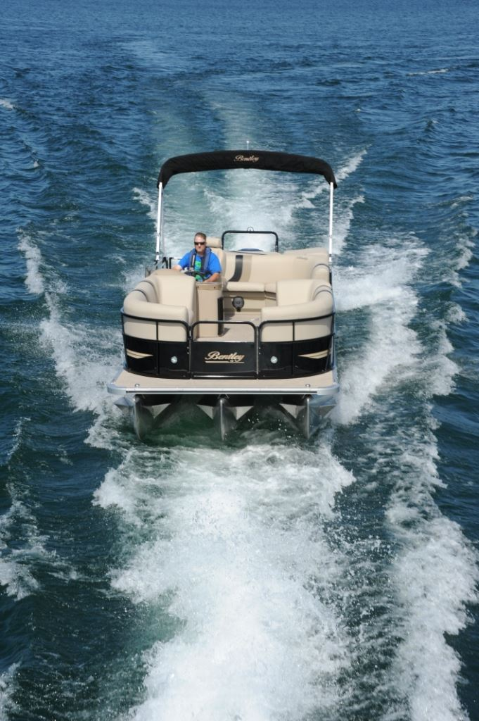 Bentley Pontoon Boats >> Bentley 243 Cruise | Pontoon & Deck Boat Magazine