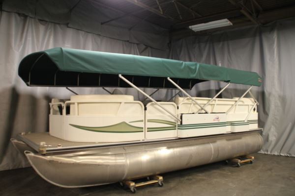 Liberator Automatic Mooring Cover   Pontoon & Deck Boat ...