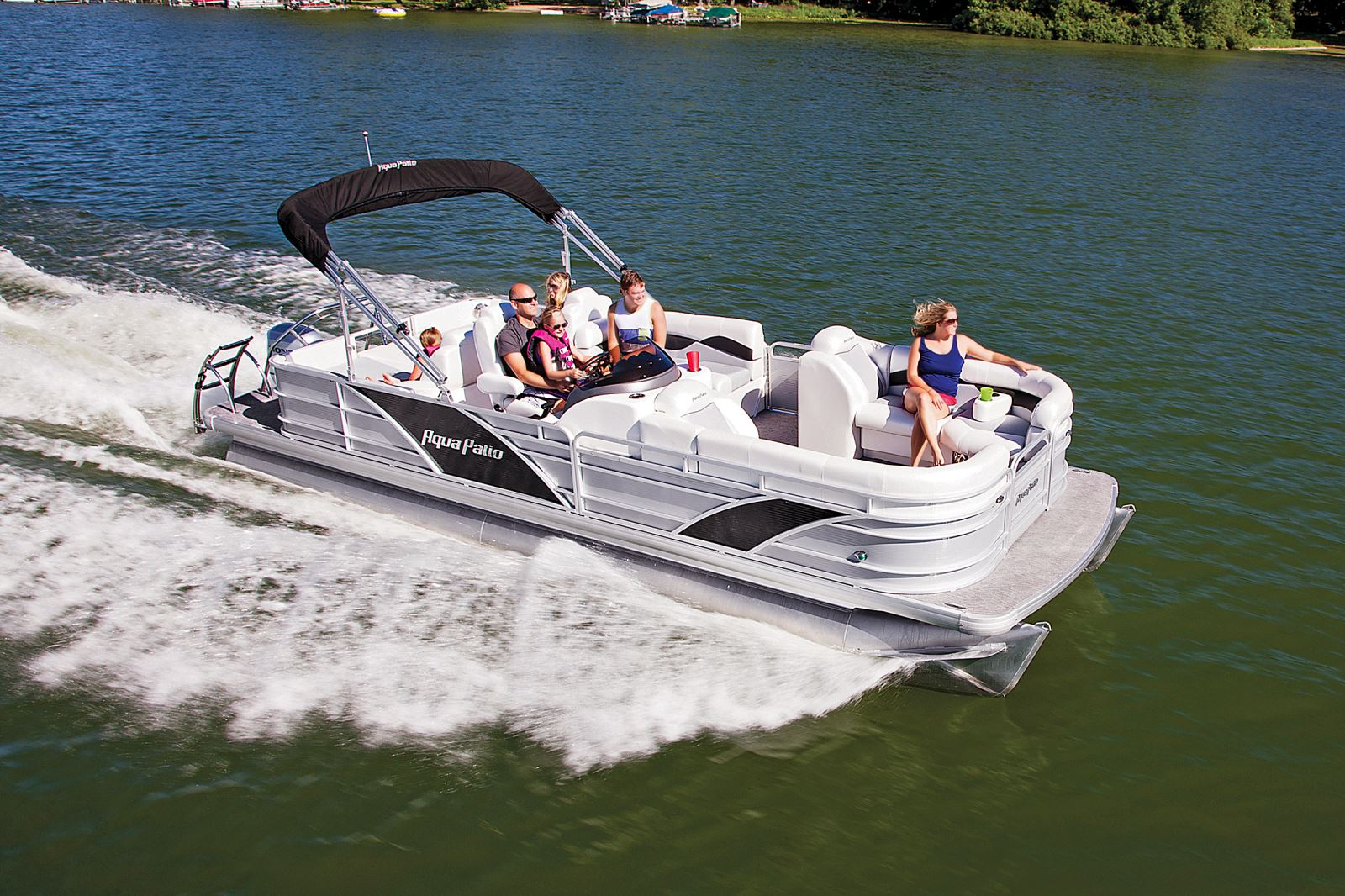 Whos Who A Complete Listing Of The Top Builders Pontoon Deck