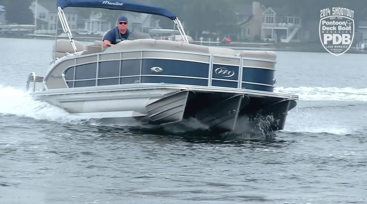 Backyard Testing Pontoon Deck Boat Magazine Bennington Wiring Diagram Fuses Like