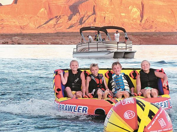 Pdb Adventures Only On Lake Powell Pontoon Amp Deck Boat