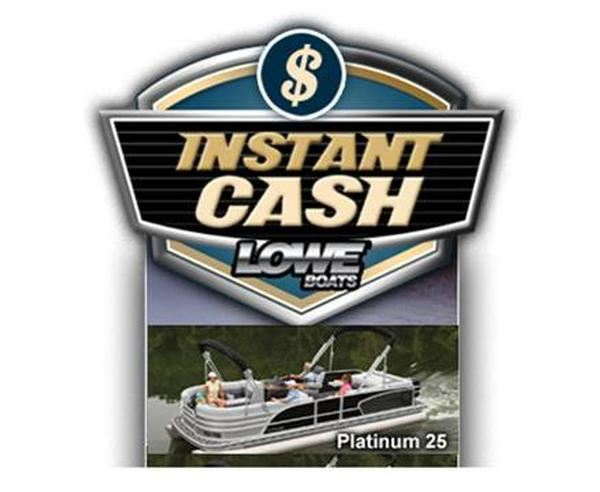 Lowe S Instant Deck : Instant cash from lowe boats pontoon deck boat magazine