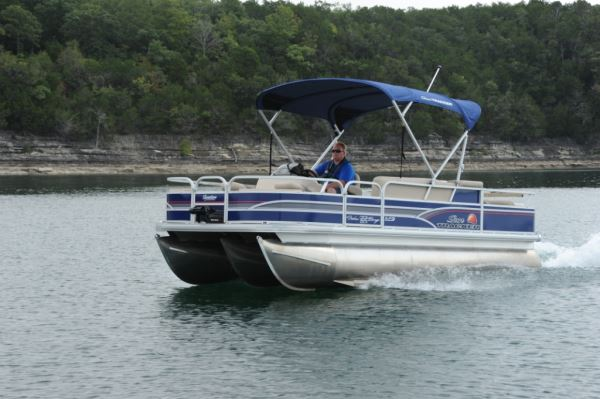 Sun Tracker Fishin Barge 22 Xp3 Pontoon Amp Deck Boat