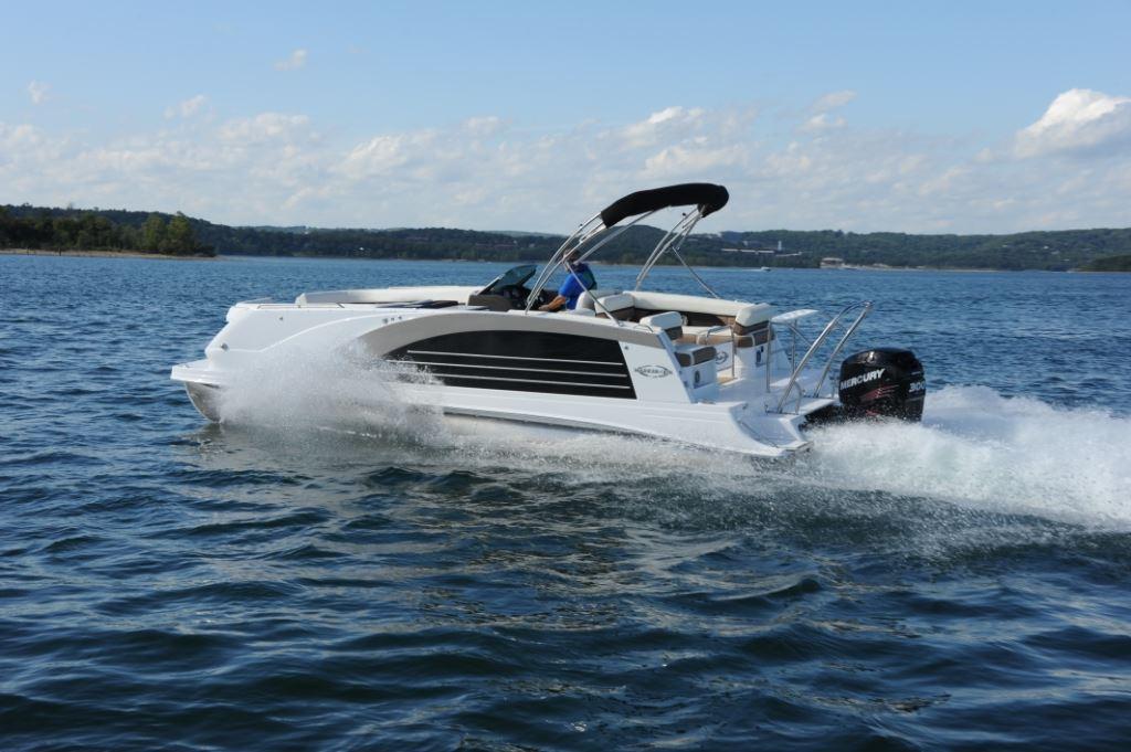 Unique Eldebo Electric Deck Boat