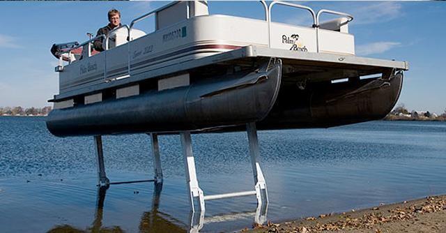 Pontoon Legs Pontoon Amp Deck Boat Magazine