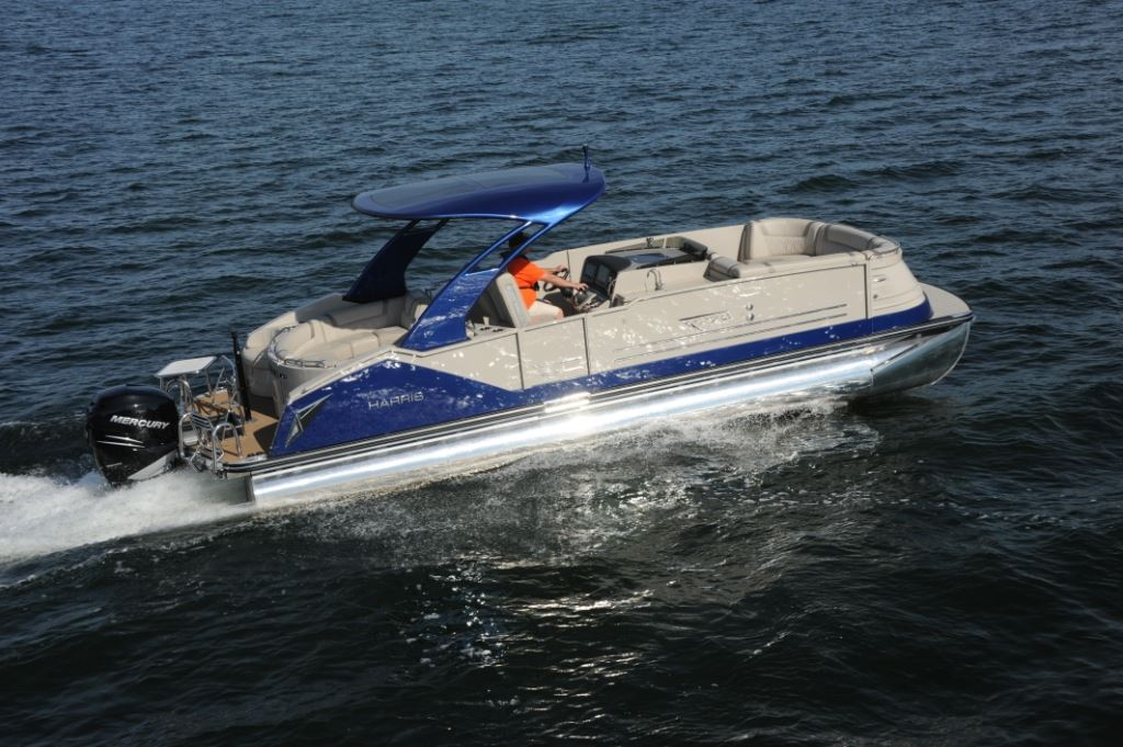 Harris V270 Pontoon Deck Boat Magazine