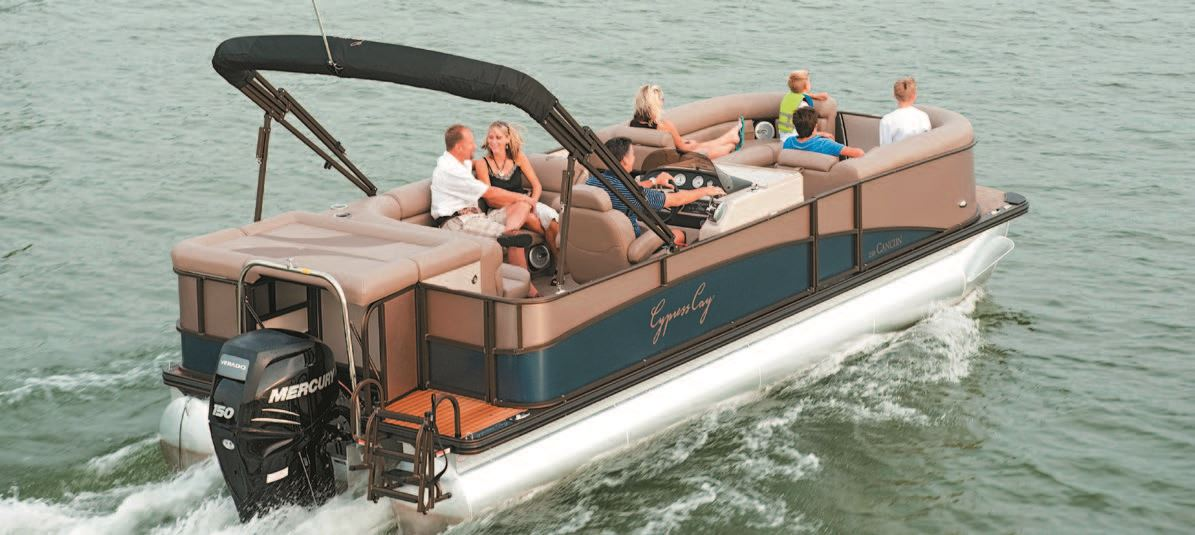 Let The Season Begin Pontoon Deck Boat Magazine