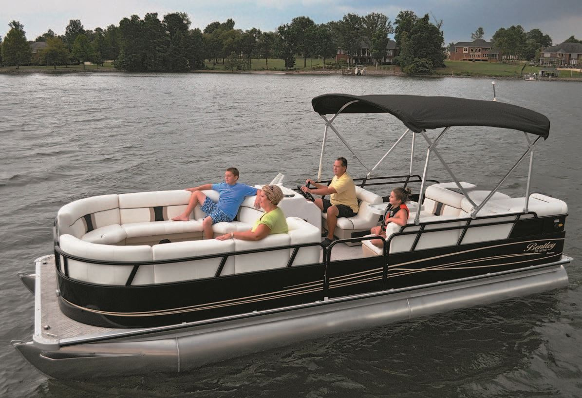 Bentley Pontoon Boat Wiring Diagram Let The Season Begin Deck Magazine Rh Pdbmagazine Com Light