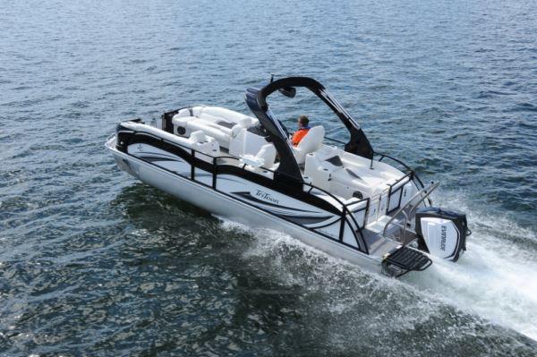 Jc Tritoon Marine Sporttoon 26 Tt Pontoon Amp Deck Boat