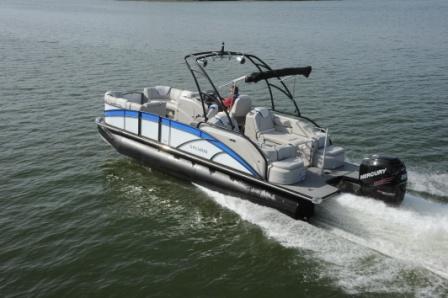 Tracker Pontoon Boats >> 2016 Shootout Boat Test Videos